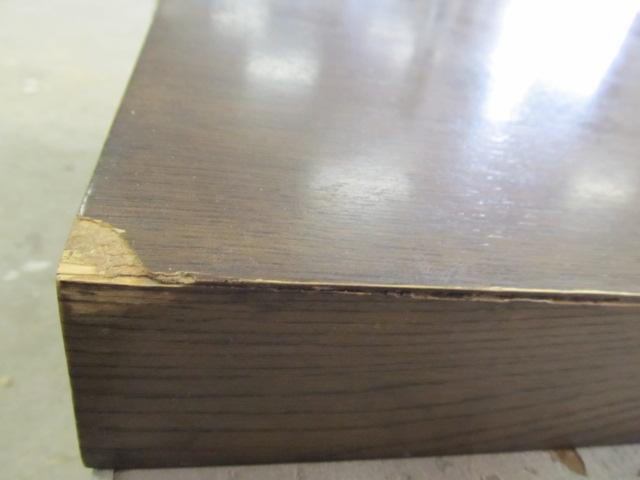 Antiek restauratie detail kast